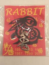 Sterling Silver Chinese Year of the Rabbit Charm