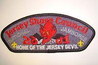 OA JERSEY SHORE COUNCIL SHOULDER PATCH CSP HOME RED DEVIL 2001 JAMBOREE FLAP