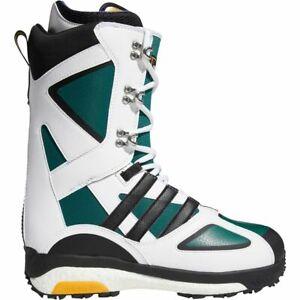 NEW 19/20 ADIDAS TACTICAL LEXICON ADV SNOWBOARD BOOT - WHITE/BLACK/GREEN