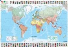 Maps/Wall (Michelin): The World Map by Michelin Travel Publications (2007, Sheet Map, Flat)