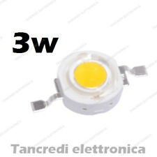 Chip led 3W bianco freddo 600mA 3V 3.6V alta luminosità lampadina lampada bulb