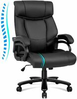 Big and Tall 400lbs High Back Executive Office Chair Wide Seat Ergonomic Chair