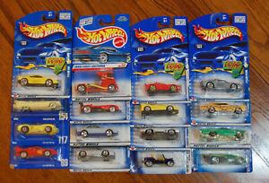 Hot Wheels, Mixed lot of 16 Cars. no duplicates. FREE SHIPPING LOOK