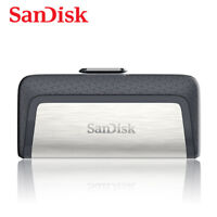SanDisk 256GB OTG Type-C Ultra Dual Flash Pen Thumb Drive Speed up to 150MB/s