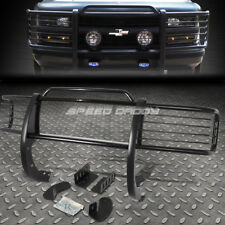FOR 88-99 CHEVY/GMC CK GMT400 BLACK COATED MILD STEEL FRONT BUMPER GRILL GUARD
