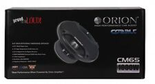 "Orion CM65 6.5"" Midrange Cobalt Series Car Speakers NEW Pair 1000 Watts w/ Grill"