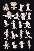 20 Rare Complete Set ✱ LOONEY TUNES ✱ Dunkin Figures OLÁ kaugummifiguren 60´s
