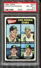 1965 Topps #526 Jim Hunter Rookie RC PSA 8.5 ++ Centered HOF