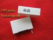 5 pcs  -  1.0uf  (1uf)  250v Metalized  Poly Film 5% capacitors (S)