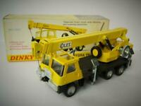 DINKY TOYS BOXED COLES HYDRA CRANE TRUCK 150T No.980 1972-79