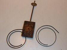 WEIGHT balancier vintage ANCIEN PIECE horloge wall CLOCK Wanduhr PENDULE poids