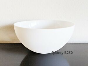 """Quaray 10"""" Plastic Bowl Lamp Shade for Torchiere Floor Lamp"""