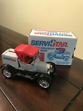 ERTL Service Star 1918 Runabout Truck Bank New