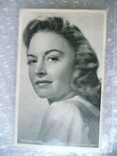 Postcard (Riche Album)- DONNA REED; American film and television actress