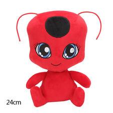 Rot Miraculous Marienkäfer Kwami Tikki weiches Plüsch Spielzeug Figur Puppe