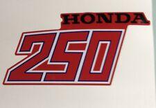 1981 1982 Honda ATC250R Decal Tank Set ATC 250R