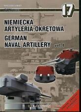 1/350 AJ PRESS GUNPOWER 17 GERMAN NAVAL ARTILLERY vol. 1