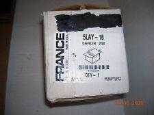 FRANCE INTERCHANGABLE IGNITION TRANSFORMER 5LAY-16 120VOLTS 60HZ