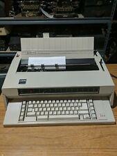 Ibm Wheelwriter 3 Electronic Typewriter Works Great