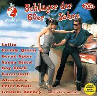 World of Schlager der 60er Jahre Lolita, Ivo Robic, Mina, Freddy Quinn,.. [2 CD]