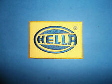 `HELLA` MOTOR SPORT SEW OR IRON ON PATCH