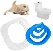 Pet Kitten Cat Puppy Toilet Training Kit Litter Tray Box Trainer Cleaning Potty