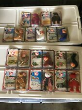 2000 mcdonalds TY Teenie Beanies Complete Set NRFB of 11