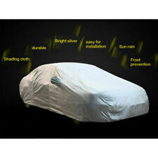 Full Car Cover Waterproof Scratchproof Sun UV Rain Outdoor Protection 4.9*1.8 M