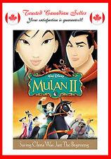 Mulan II (DVD, 2005)