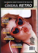 CINEMA RETRO ISSUE #27 SUE LYON KUBRICK'S LOLITA PETER CUSHING LOST INTERVIEW