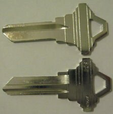 2 NP BRASS BLANK HOUSE KEYS FOR SCHLAGE LOCKS SC1 CAN BE PUNCHED TO YOUR CODE