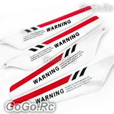 4Pcs RC Main Blade S107-02 For Syma 107 S107G 3CH RC Helicopter Parts S107G-02RD