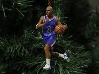 African American Basketball Christmas Ornament, Black Male
