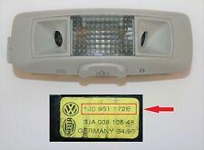 VW Passat Golf Mk4 Bora Interior Reading Light Switch Alarm Sensor 1J0 951 172 E
