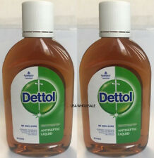 2 bottles of  110ml  LIQUID DETTOL  Antiseptic first Aid