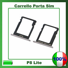 SIM Card Slot Porta Scheda Vassoio SLOT per HUAWEI P8 LITE
