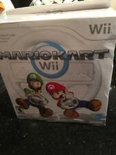 Nintendo Wii Mario Kart Wii with Wii Wheel New In Box Has Outer Wear On Box