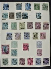 INDIA, a collection on 3 album pages, mainly used condition.
