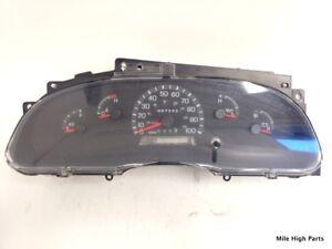 99-02 Ford Econoline Van E250 E350 E450 Speedometer Cluster 98K F8UF10C956AA
