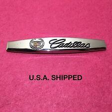 Chrome Metal Cadillac Emblem (Classic) Badge Sticker Decal Hood Trunk