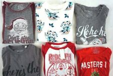 NWT Macys Lot of 6 Women's Ugly Christmas Sweaters/T-Shirts Small XS