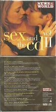 CD - SEX AND THE CD avec LIBERTY X, SHABBA RANKS, THE FUGEES, AL GREEN, BOYZ II