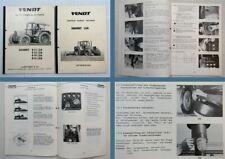 Fendt Favorit 611LSA 612LSA 614LSA 615LSA Betriebsanleitung Schulung 1984/85