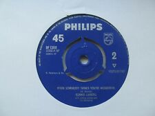 """RONNIE CARROLL I Am/When Somebody Thinks You're Wonderful UK 7"""" Single"""