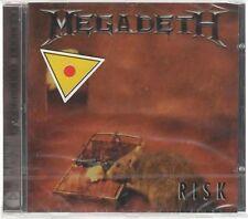 MEGADETH RISK  CD F.C. CAPITOL SIGILLATO!!!