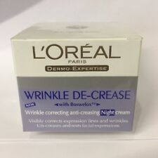 L�€™OR�‰AL  Wrinkle De-Crease Anti Correcting Anti-creasing Night Cream