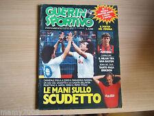 GUERIN SPORTIVO=N°19 1987=FILM DEL CAMPIONATO 27° , ELKJAER , GRANDE TORINO