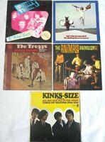 PRETTY THINGS Troggs KINKS Animals ROLLING STONES unholy UK garage punk 5 LP LOT