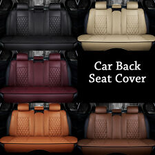 Luxury PU Leather Car Seat Cover Cushion Car Rear seat 3D Surround Breathable