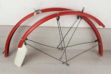 "2x gardes boues BLUEMELS Classique 700C 28"" 1970s old bicycle fenders"